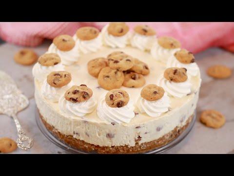 Chocolate Chip Cookie Cheesecake - Gemma's Bigger Bolder Baking Ep 134