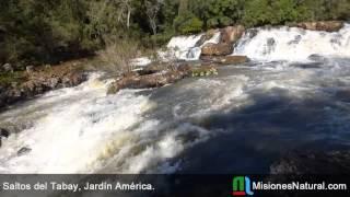 preview picture of video 'Saltos del Tabay, Jardín América. Misiones Natural'