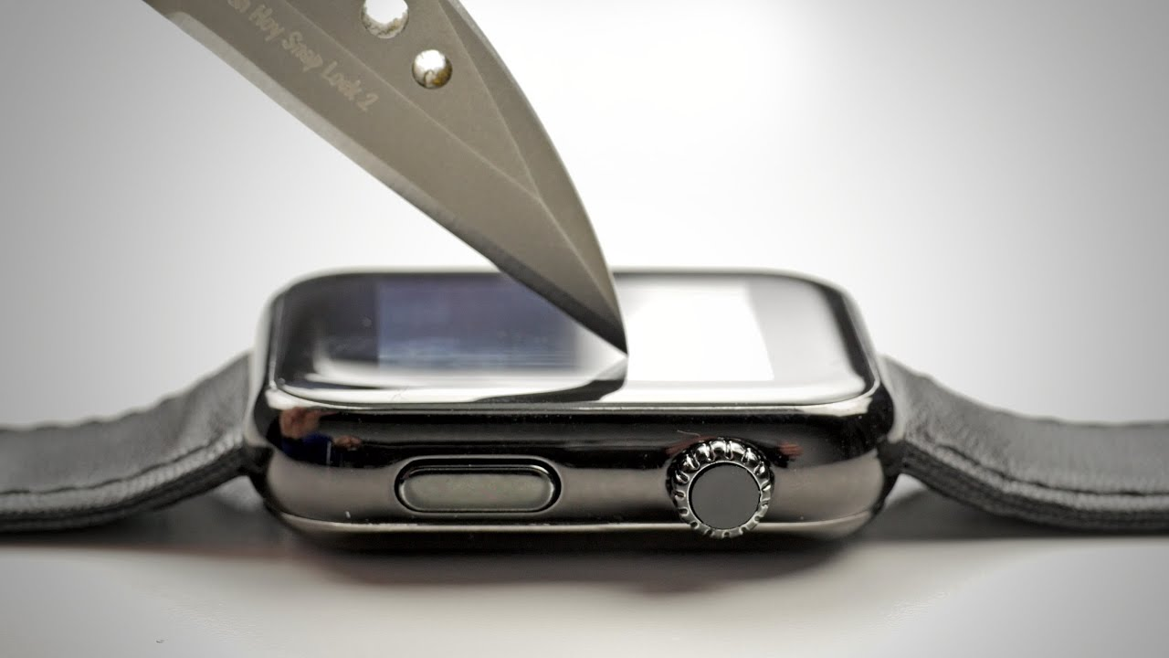 Apple Watch Sport Scratch Test: What Does It Take To Destroy This Screen?