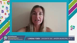 Lorena Tobía, Jardín Municipal N°1