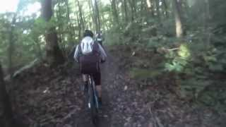 preview picture of video 'Choisel 2013 - Randonnée VTT de 52 km en vallée de Chevreuse'