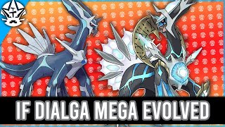 If Dialga Mega Evolved in Diamond & Pearl Remakes by Tyranitar Tube