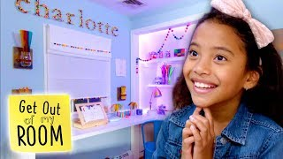 Girl Gets Candy Land Dream Room | Get Out Of My Room | Universal Kids