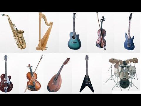 Sound of musical instruments. Музыкальные инструменты и их звучание. Обучающее видео для детей 1 видео
