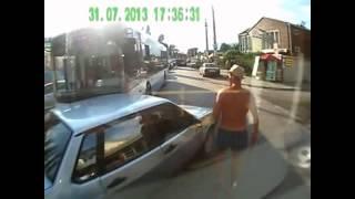 Пьяные русские за рулем