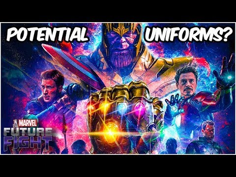 Avengers Endgame Toy Leaks! Maybe New Uniforms?! - Marvel Future Fight