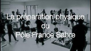 La préparation physique du Pôle France Sabre
