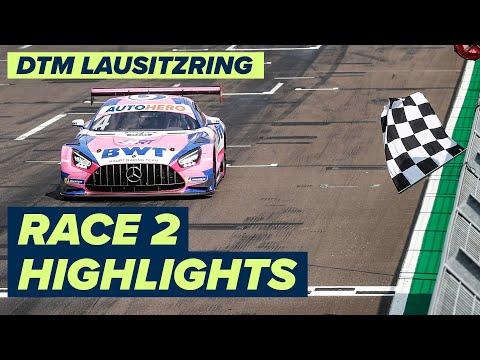 DTM ラウジッツリンク(ドイツ) レース2のハイライト動画