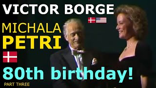 Victor Borge - 80th birthday - English subtitles available