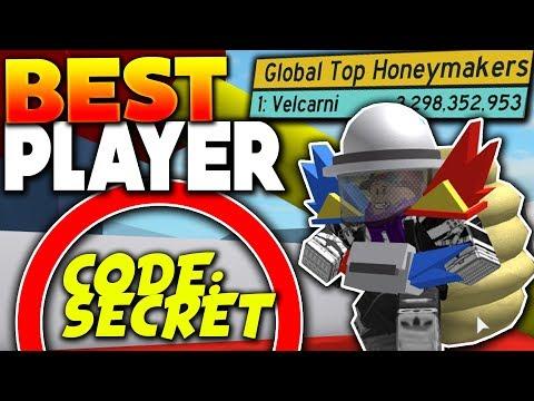 Worlds best player shows secret codes - roblox bee swarm simulator
