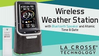 Wireless Weather Station with Bluetooth Speaker