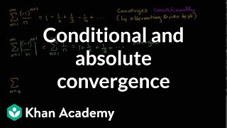 Conditional And Absolute Convergence
