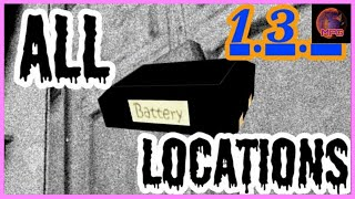 Granny V1.3.2 | All Battery Locations (outdated)
