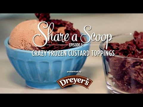 Video Quick and Easy Crazy Custard Toppings. Break out of the old with Dreyers and Serious Eats