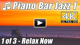 JAZZ PIANO BAR Music Relaxing Lounge Smooth Background Instrumental Happy Relax Songs Romantic Video