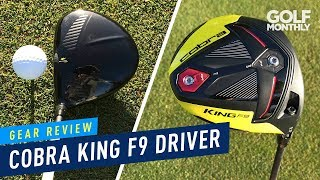 Golf Monthly  reviews the Cobra F9 Speedback Driver