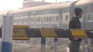 preview picture of video 'IRFCA The Honking of WDM3A Alco with New Bongaigaon-Guwahati Manas Rhino Passenger'