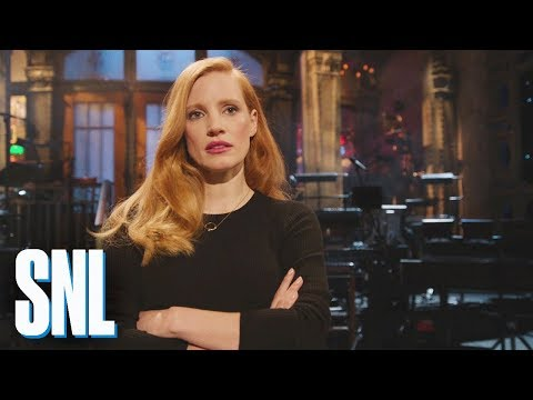 SNL Host Jessica Chastain Is Not Here to Make Friends