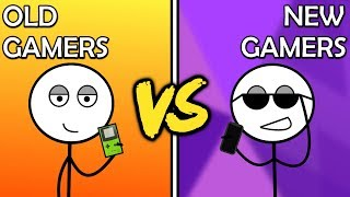 Old Gamers VS New Gamers
