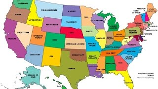 Learning All 50 States in 30 SECONDS!