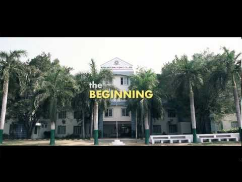 Alpha Arts and Science college video cover1