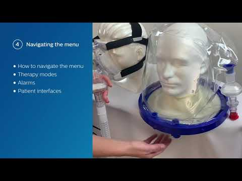 Philips Respironics E30 Ventilator, High Flow Nasal Oxygen