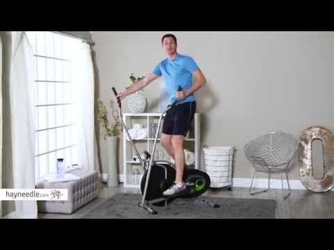 Body Rider BR1830 Dual-Action Fan Elliptical Trainer - Product Review Video
