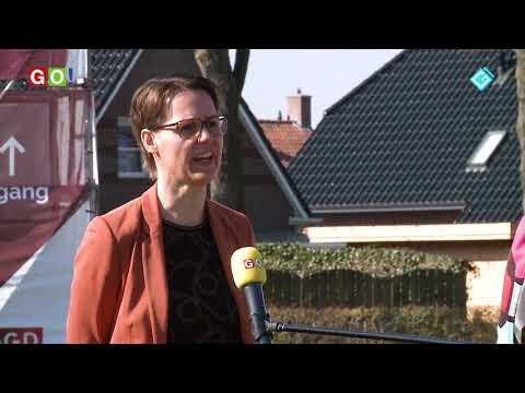 Vaccinatielocatie Scheemda in gebruik genomen - RTV GO! Omroep Gemeente Oldambt