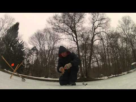 Awesome Pond Ice Fishing