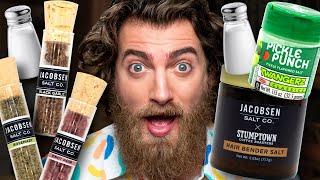 Weird Flavored Salt Taste Test