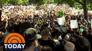 Thousands Of Protesters Turn Out From Coast To Coast In Response To Charlottesville | TODAY