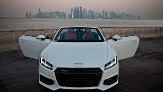 2017 NEW Audi TT Roadster S-tronic in amazing places!
