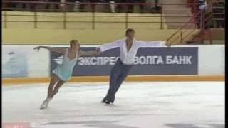 Maria MUKHORTOVA Jerome BLANCHARD 2011 LP Russian Nationals