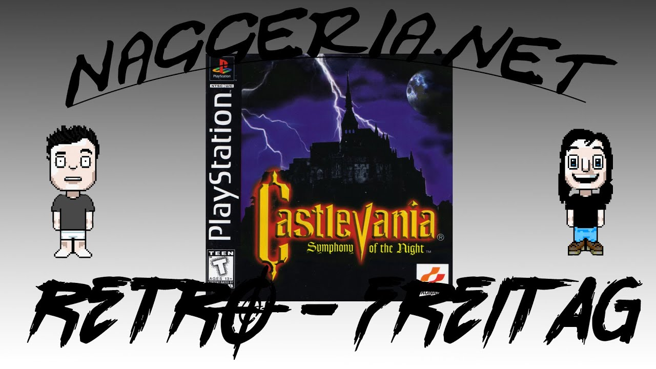 [Retro-Freitag] Castlevania: Symphony of the Night (PS1 / Xbox One)