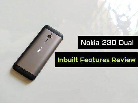 Nokia 230 Dual Sim Unboxing | Hands on & Inbuilt Mobile Features Review | Part - 1 | 2016