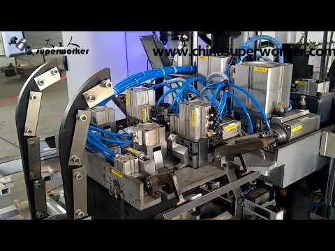 Automatic Laser Welding Steel Strapping Machine for Electric Automotive Battery Bundling