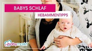 Babys Schlaf - Unsere Hebammentipps | babymarkt.de