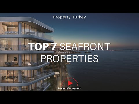 TOP 7 seafront Istanbul properties for sale
