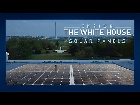 video:Inside the White House: Solar Panels
