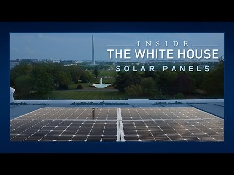 Inside the White House: Solar Panels
