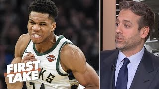 Giannis Antetokounmpo is better than Kawhi Leonard - Max Kellerman | First Take