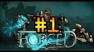 Кооперативное прохождение Forced #1 [Брутальный мир гладиаторов!]