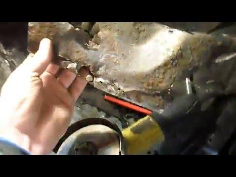 Кузовной ремонт. Мазда 626. Замена лонжерона. Handmade