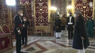 S.M. el Rey recibe las Cartas Credenciales del Embajador de la República Islámica de Pakistán