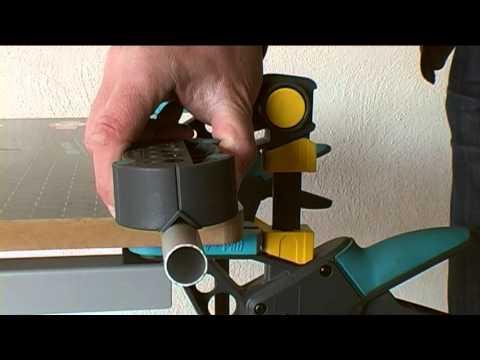 1 accumobil Guía para taladrar móvil Ø 4, 5, 6, 8, 10 mm Wolfcraft 4685000