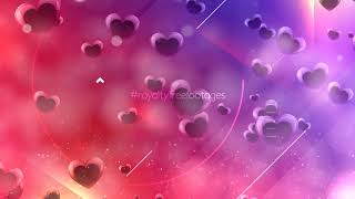 love motion background hd | heart background animation | love heart background video effects hd
