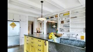 Sarı Mutfak Dekorasyon Halıları, Aksesuarlar ve Fikirleri