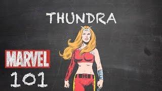 Warrior Woman – Thundra