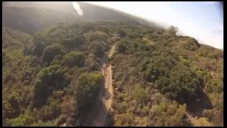 TBS DISCOVERY Fpv manual downhill quadcopter runs