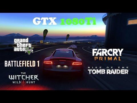 GTX 1080Ti Test in 5 Games @ 1080p Ultra Settings
